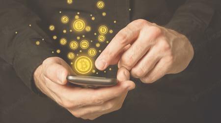 cach dao bitcoin tren dien thoai app cho iphone android