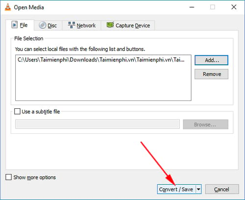 Hướng dẫn tách âm thanh ra khỏi video trên máy tính 3