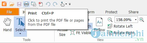 cach in file pdf voi foxit reader va adobe reader