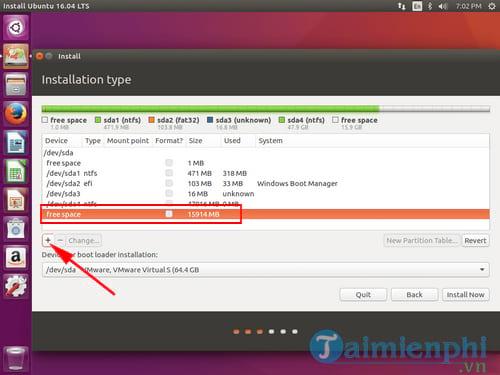 Cách cài Ubuntu song song với Windows 10, 8, 7 UEFI và GPT 11