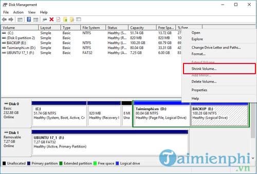 Cách cài Ubuntu song song với Windows 10, 8, 7 UEFI và GPT 3