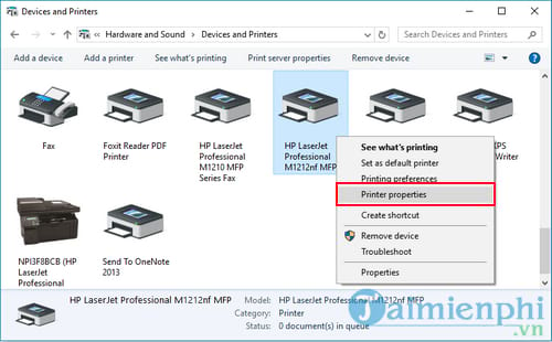 how to set the ip address for the printer 4