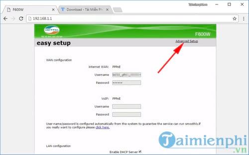Cách đổi mật khẩu Wifi ZTE, thay password modem wifi ZTE Viettel