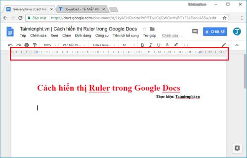 cach hien thi ruler trong google docs 4