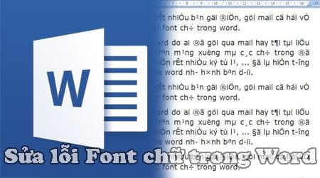 sua loi font trong word