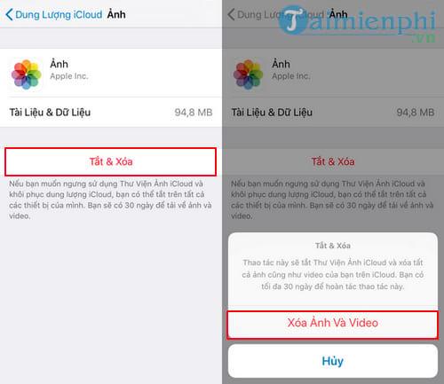 Cách xóa ảnh trên iCloud cho iPhone, iPad 10