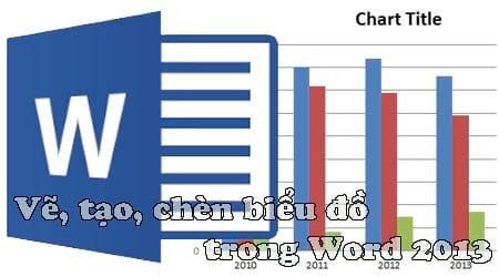 huong dan ve tao chen bieu do trong word 2013