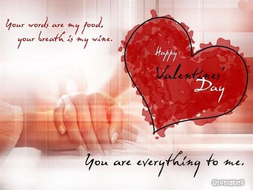 loi chuc valentine y nghia