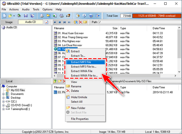 Mở file .nrg bằng phần mềm nào? 4