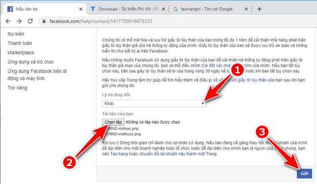 Link 333 Facebook - Hướng dẫn đổi tên tài khoản