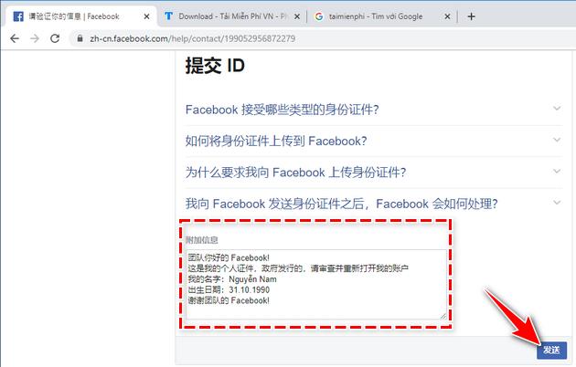 Link 279 Facebook - Giúp Unlock tài khoản mạo danh