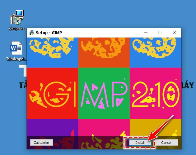 Cài GIMP sửa ảnh, tạo ảnh động trên máy tính