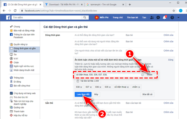 how to automatically update your phone number on facebook 7