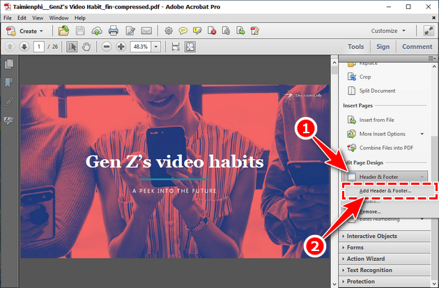 How to add pages to pdf 3