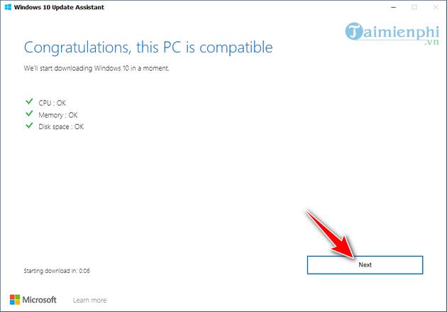 cach cap nhat windows bang windows 10 update assistant 4