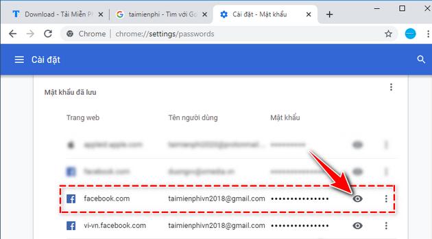 Cách xem mật khẩu Facebook của người khác 3