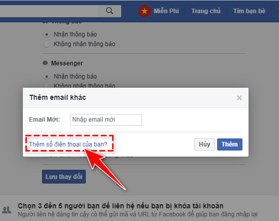 Facebook - Thông báo khi có thiết bị đăng nhập tài khoản Fb