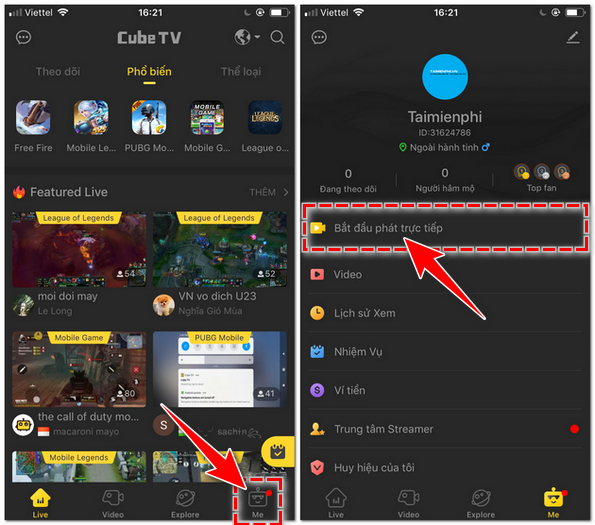 How to livestream game cubetv on computer 3