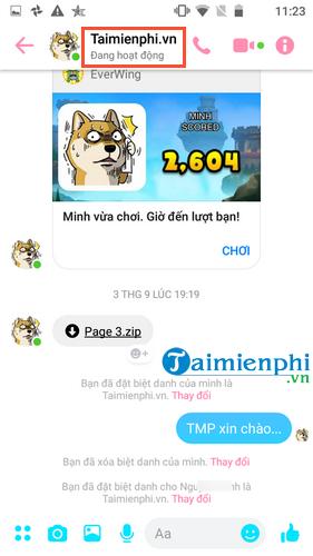 Cách đổi biệt danh trên Messenger, thay biệt hiệu, tên chat trên Facebook Messenger