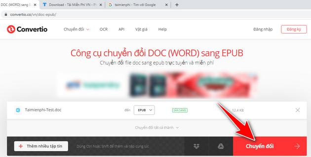 cach chuyen file doc sang epub 4