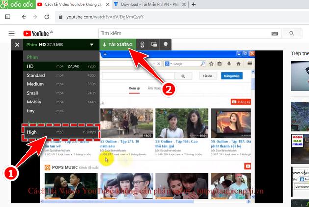 Cách tải Video Youtube về máy tính dùng và không dùng phần mềm hay nhất 8