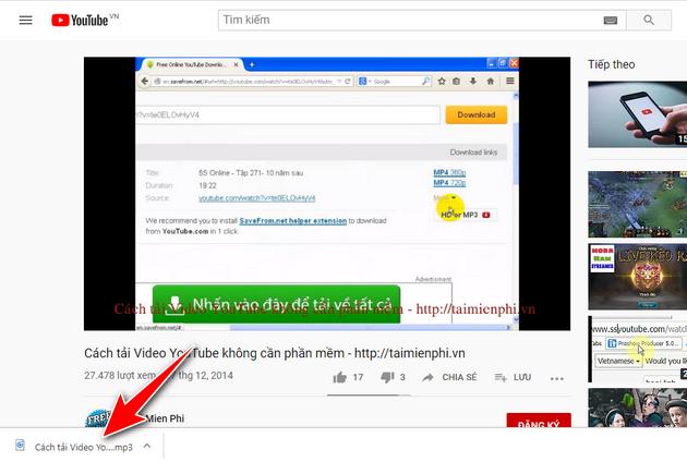 Cách tải Video Youtube về máy tính dùng và không dùng phần mềm hay nhất 10