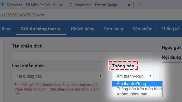 cach gui tin nhan hang loat tren facebook 4