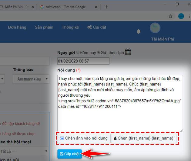 cach gui tin nhan hang loat tren facebook 7