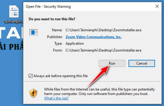 Tải phần mềm zoom cloud meeting cho máy tính