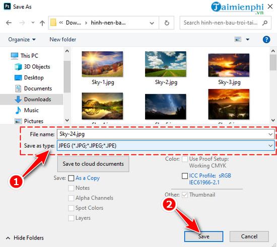 Cách giảm dung lượng ảnh bằng Photoshop CC 2020