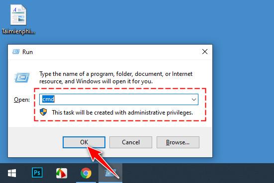 Cách hủy lệnh hẹn giờ tắt máy tính Windows 10 3