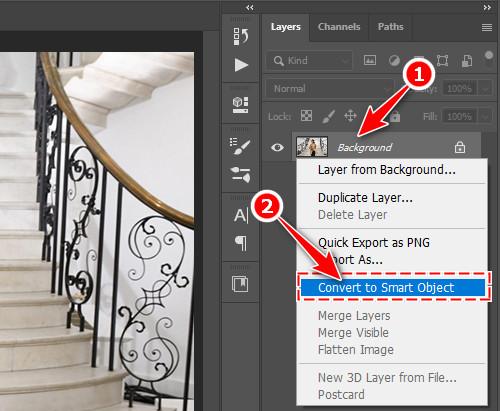 Cách làm mờ đối tượng trong ảnh bằng Photoshop CC 2020