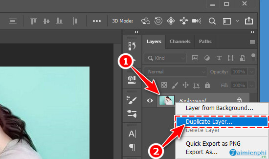 Cách chuyển ảnh màu sang đen trắng bằng Photoshop CC 2020