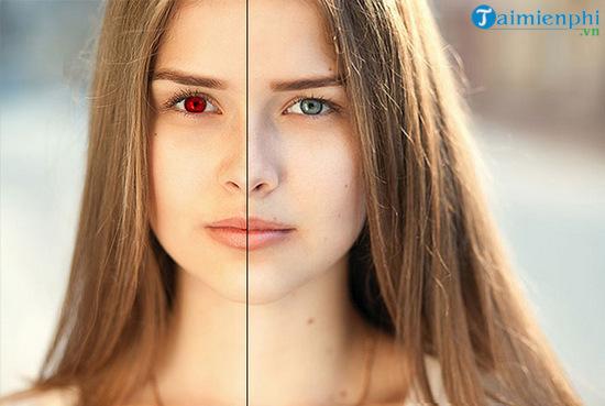 Cách sửa lỗi mắt đỏ trên ảnh bằng Photoshop CC 2020