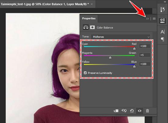 Cách đổi màu tóc bằng Photoshop CC 2020