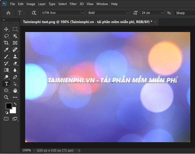 Cách tạo chữ uốn lượn trong Photoshop CC 2020