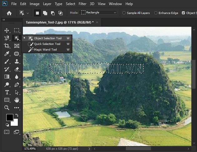 Cách xóa chữ trên ảnh bằng Photoshop CC 2020