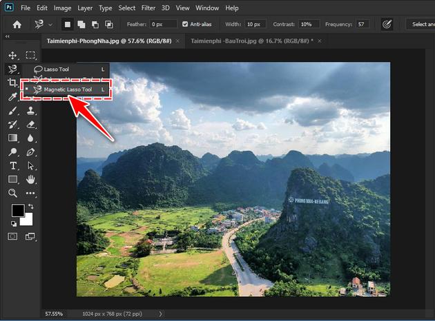 Cách ghép ảnh bằng Photoshop CC 2020