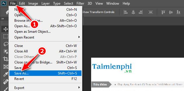 Cách xuất file ảnh để in ấn trong Photoshop 3