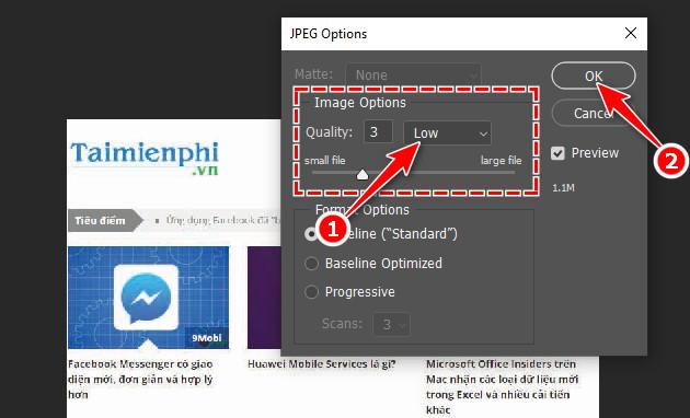 Cách xuất file ảnh để in ấn trong Photoshop 9