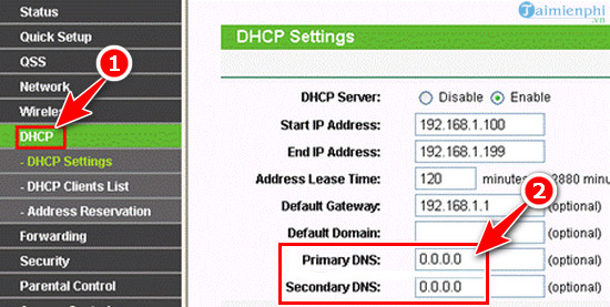 How to install dns 1 1 1 1 on modem router 4