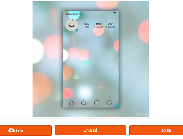 cach tao anh instacard anh 2 lop 8