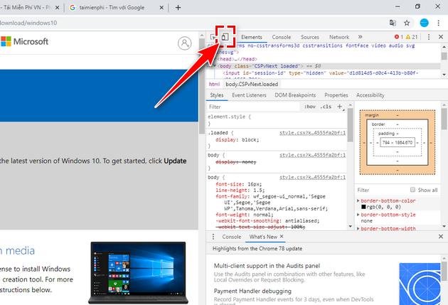 link tai file iso windows 10 build 19603 3