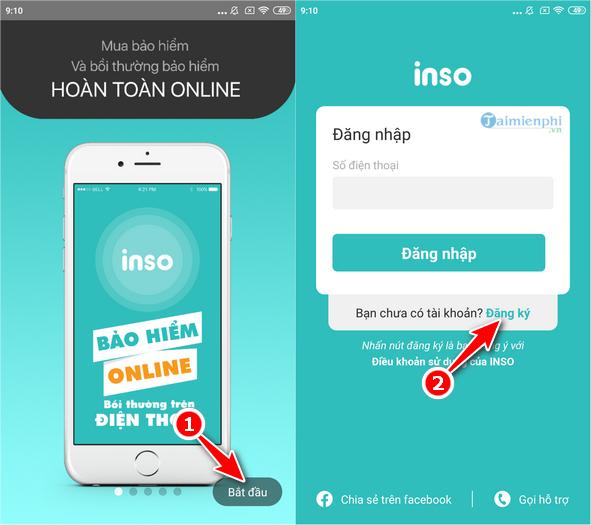Mua Bảo Hiểm Online INSO IOS