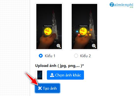 Cách tạo hình nền icon Thương Thương Facebook phát sáng