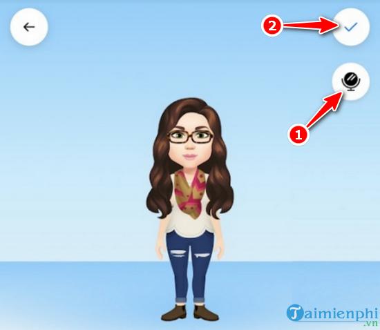 How to create facebook avatar in style bitmoji