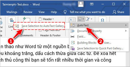 them autotext vao word 3