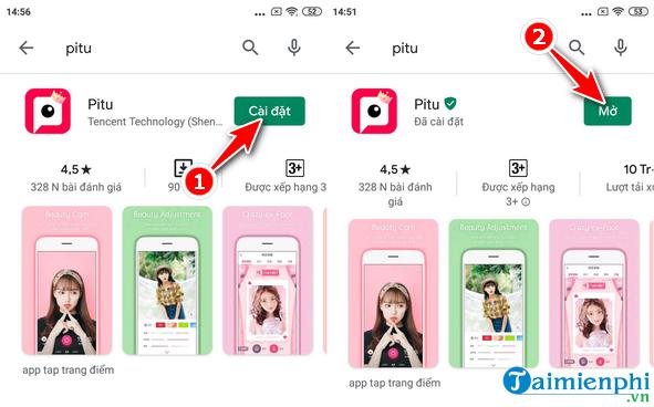 Cách cài đặt và sử dụng Pitu trên Android, iPhone