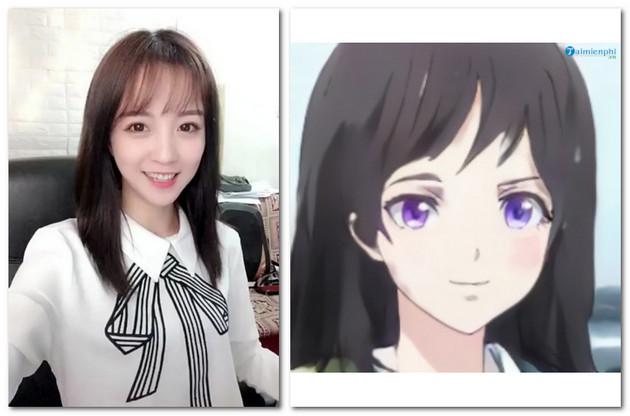 Cách chuyển ảnh chụp thành ảnh anime không cần phần mềm