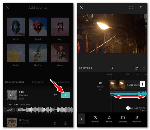 cach Edit video bang app Capcut